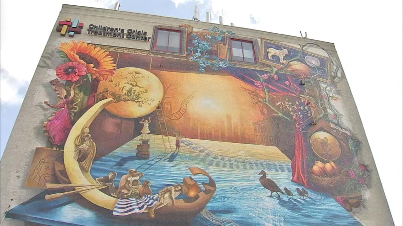 Rippling Moon Mural dedicated in Fishtown
