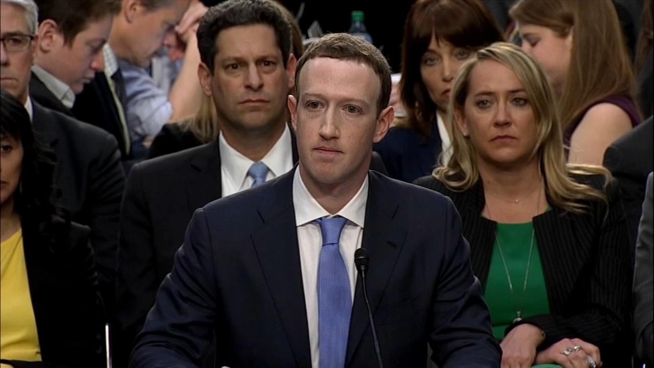 Mark Zuckerberg testifies on Capitol Hill