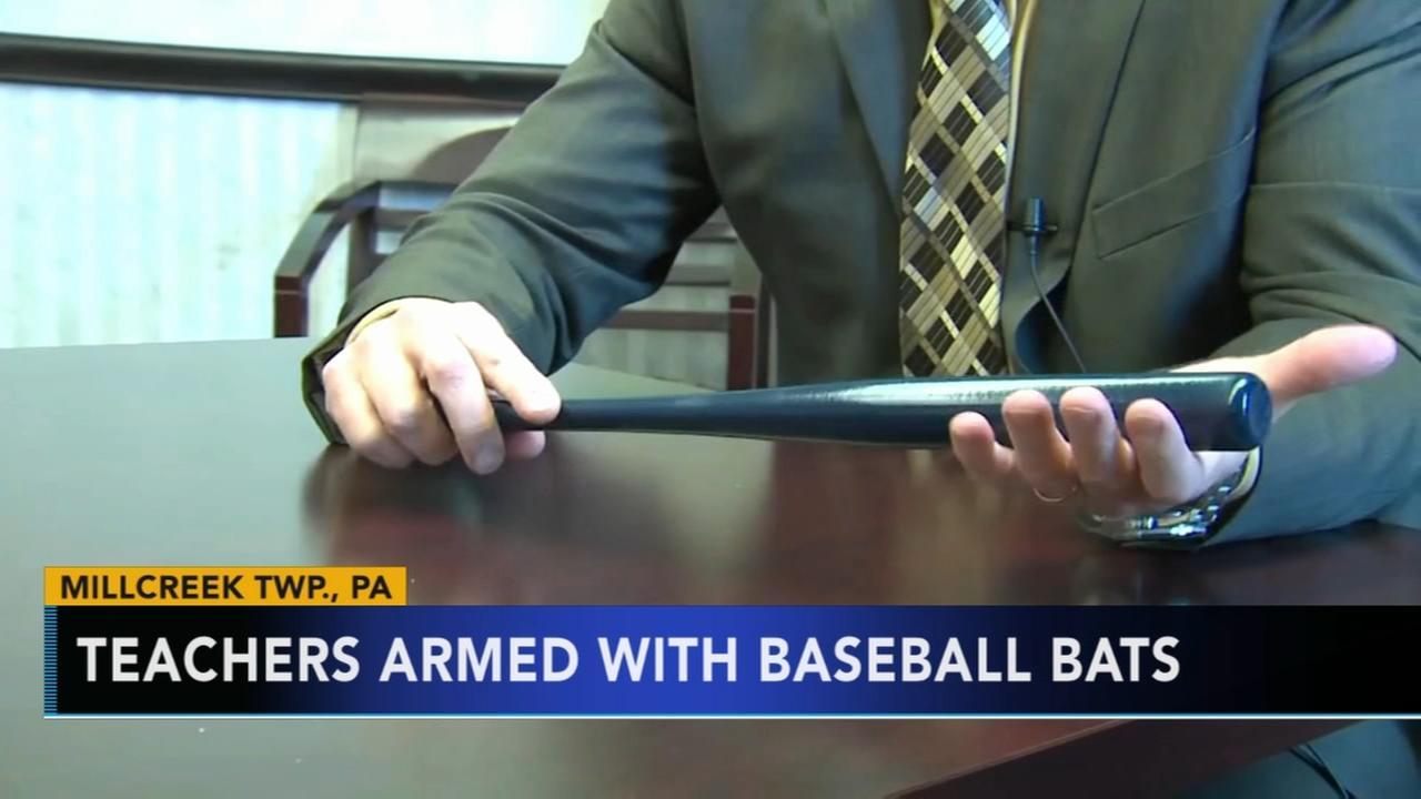 Pa. teachers armed with baseball bats