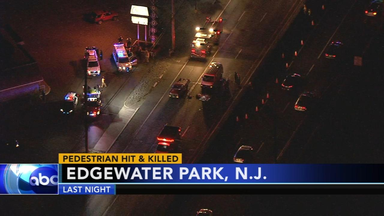 Pedestrian hit and killed in Edgewater Park