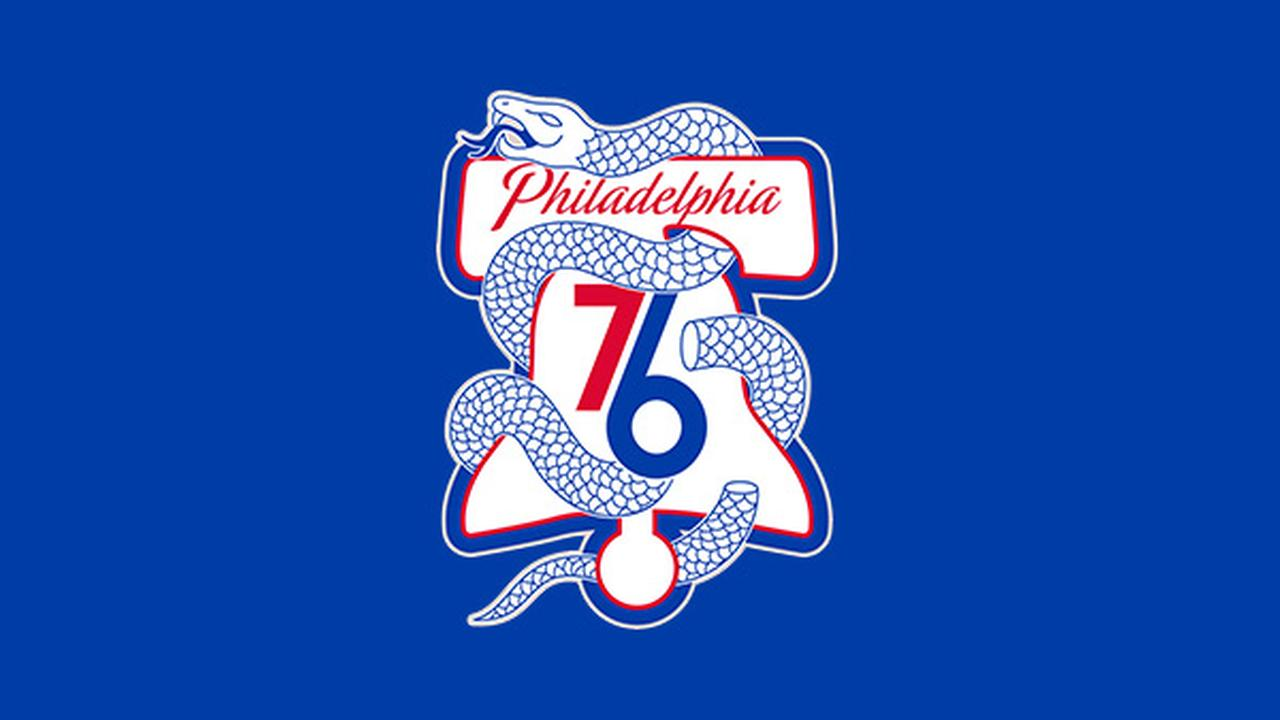philaunite 76ers unveil playoff logo seen throughout