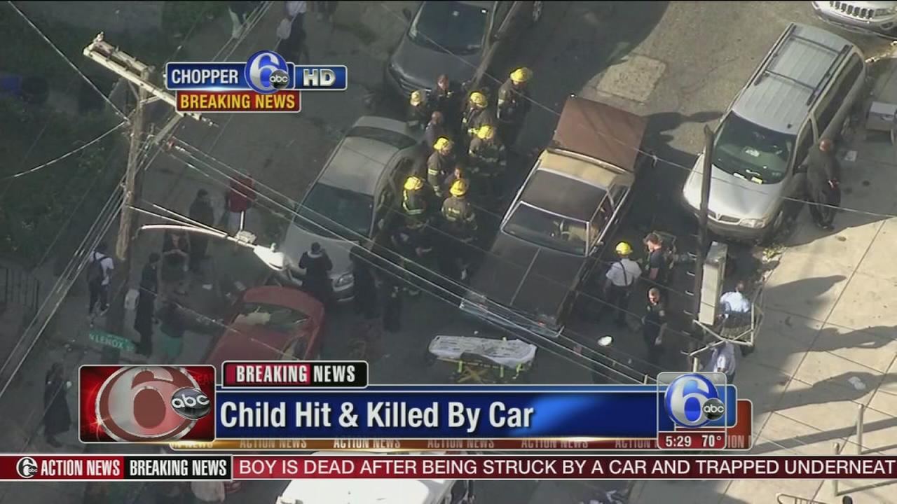 VIDEO: Child struck and killed by car