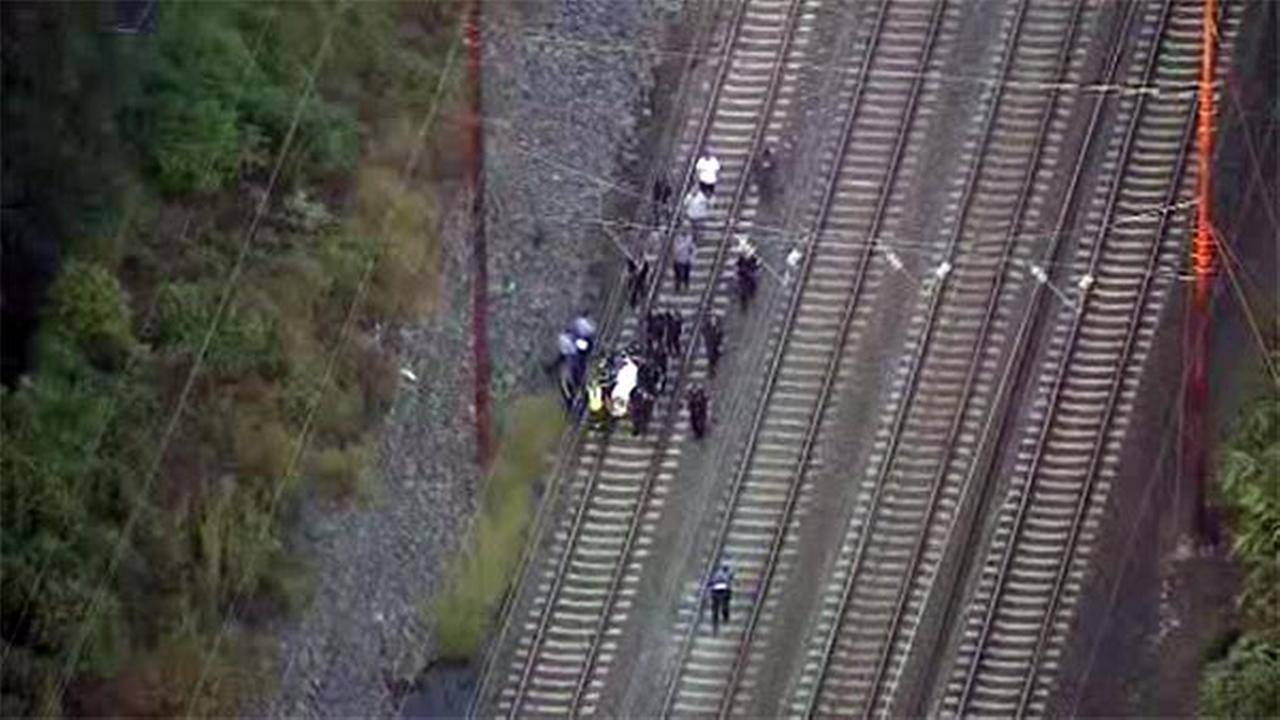 Person struck by train in Sharon Hill, Pa.