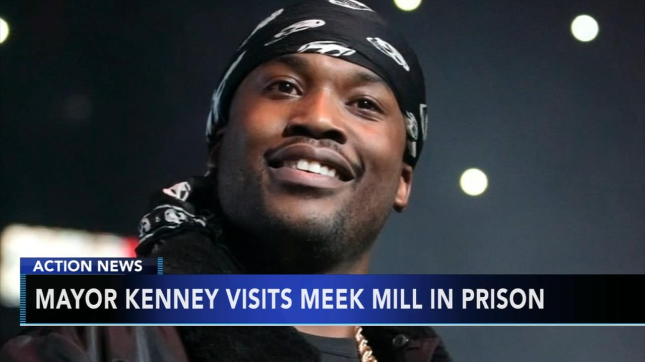 Mayor Kenney visits Meek Mill in prison