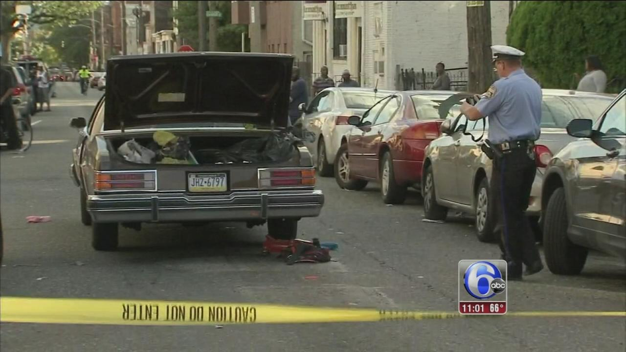 VIDEO: Boy, 7, fatally struck by car in Tioga-Nicetown