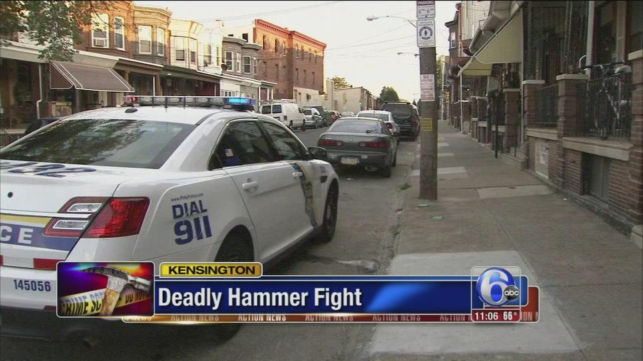 VIDEO: Man dead, woman injured in apparent hammer attack