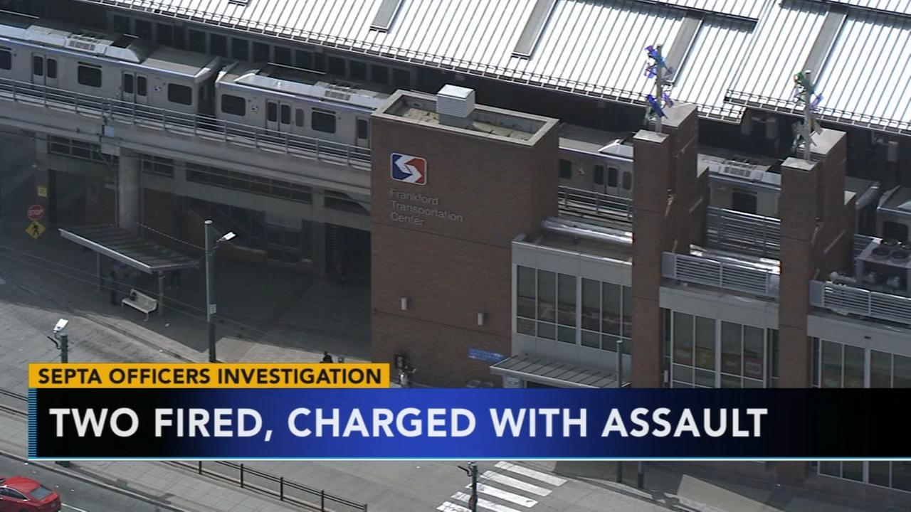 2 fmr. SEPTA officers charged with assault surrender