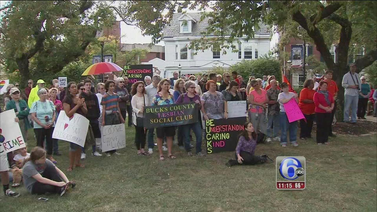 VIDEO: Peace rally held in Doylestown