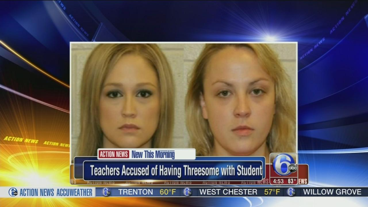 VIDEO:  Teachers accused of having sex with student