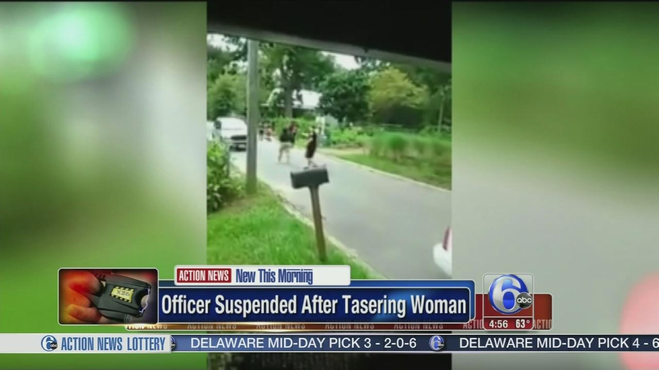 VIDEO: Fla officer on leave after using stun gun on woman
