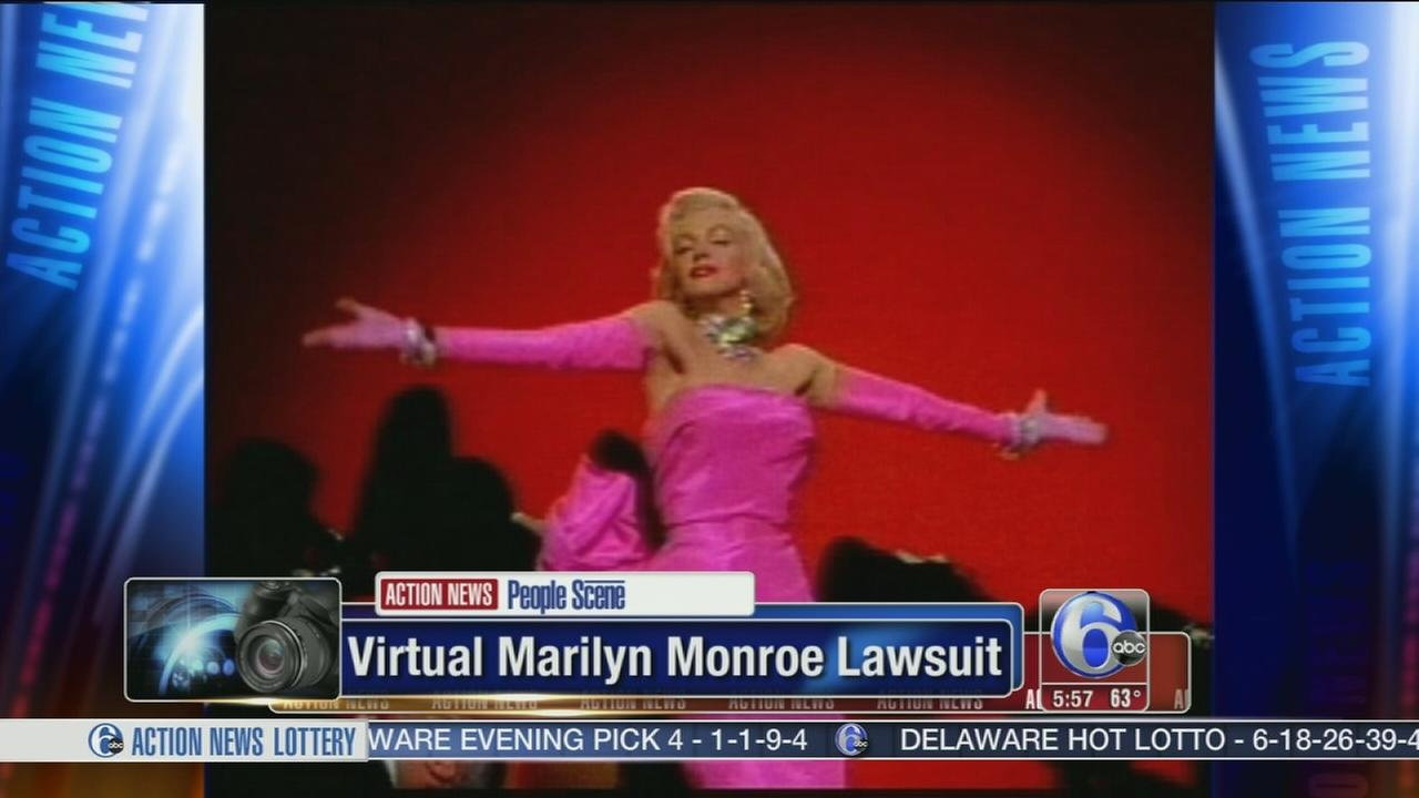 VIDEO: Estate sues over virtual Marilyn Monroe