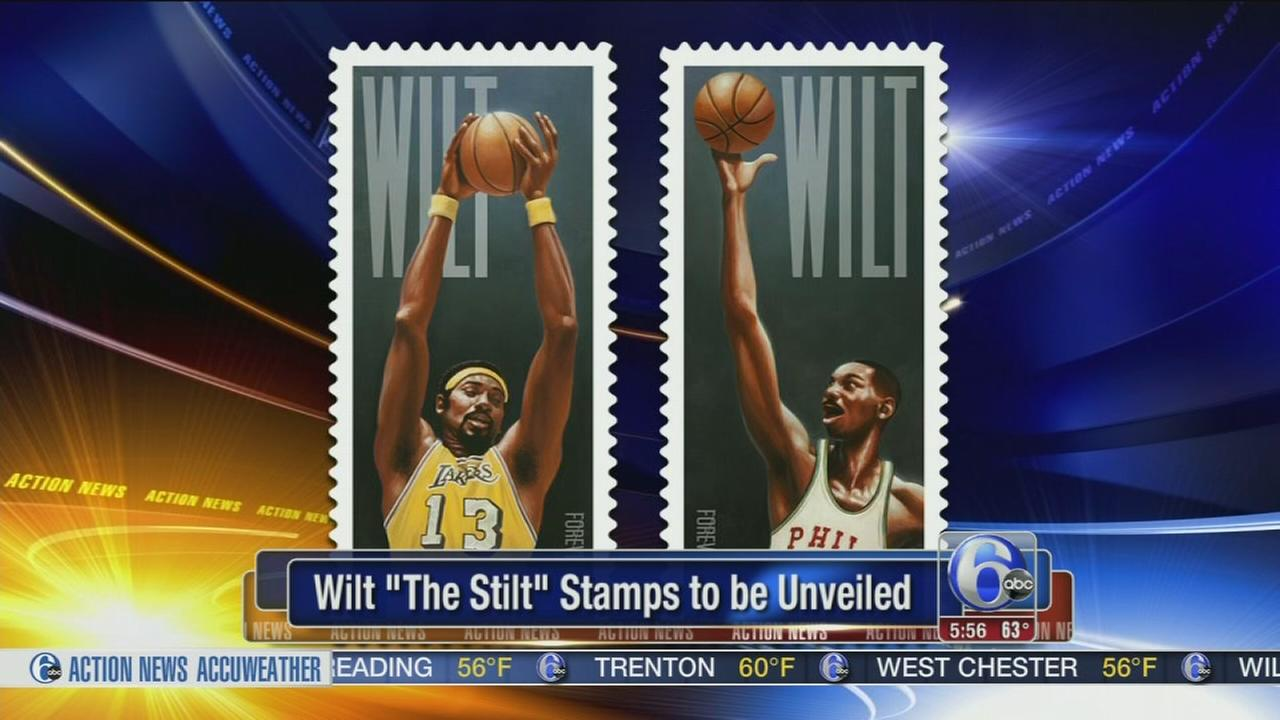 VIDEO: Wilt Chamberlain set to appear on postage stamp