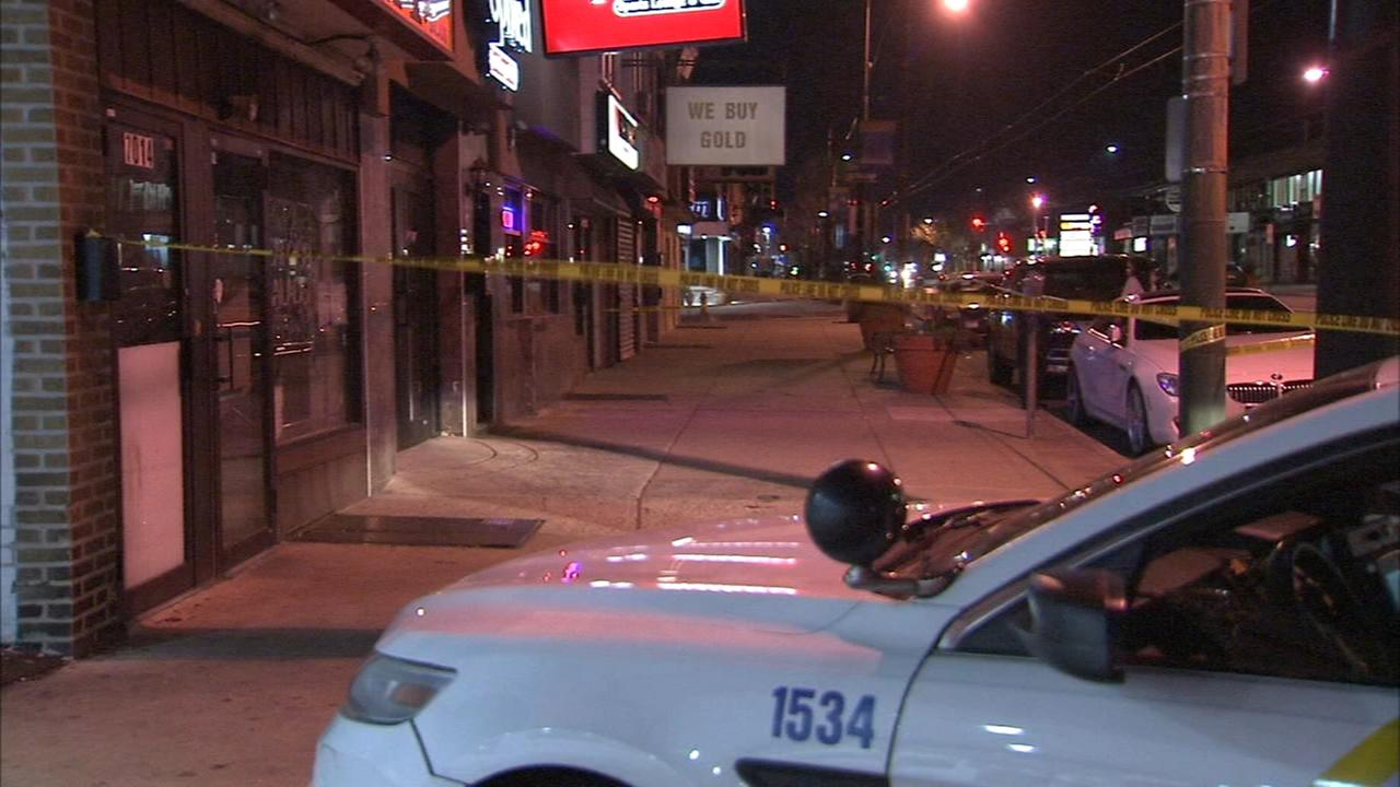 Victim stabbed in fight outside bar