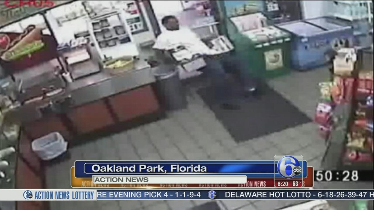 VIDEO: Clumsy beer bandits caught on tape