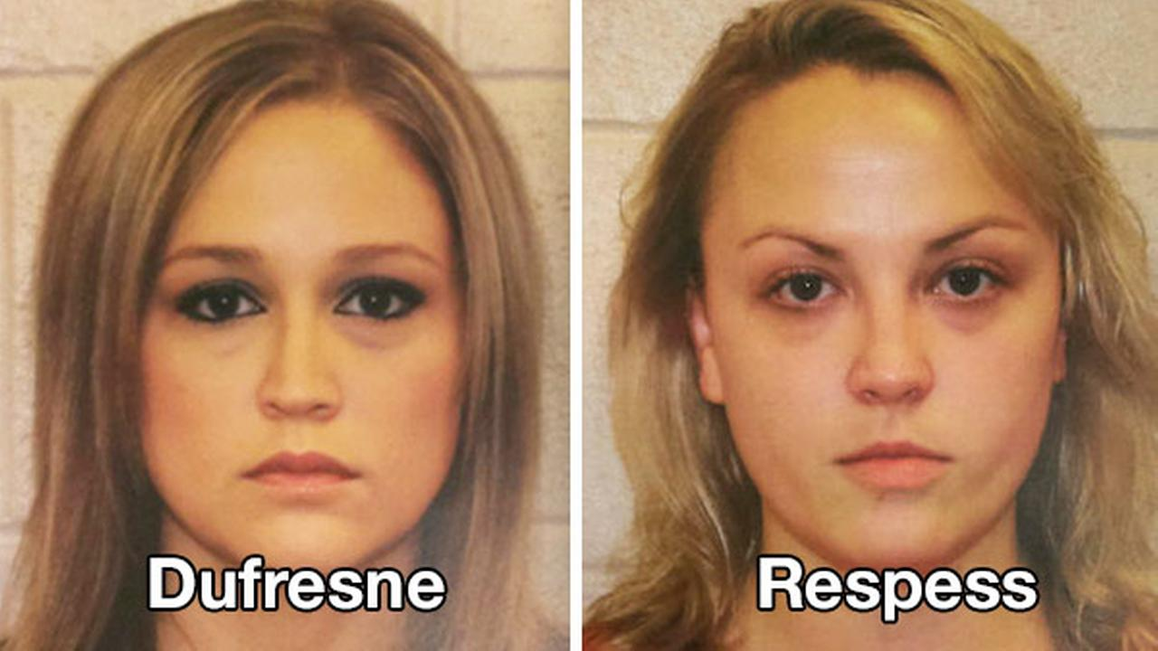 32-year-old Shelley Dufresne and 34-year-old Rachel Respess