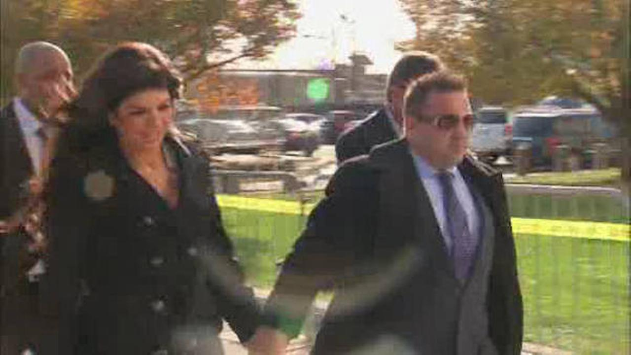 Real Housewives couple face sentencing for fraud