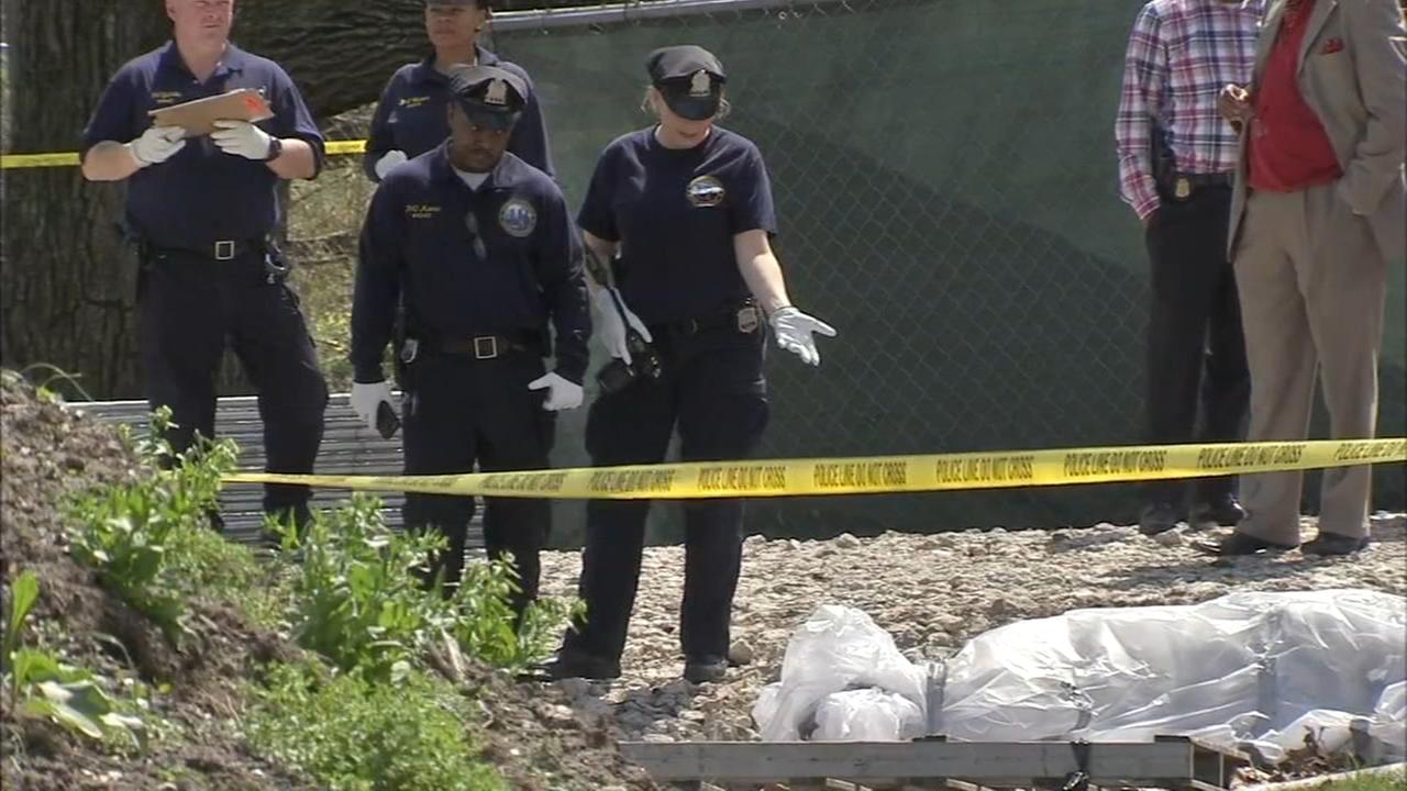 Body found wrapped in tarp off MLK Drive in Fairmount Park