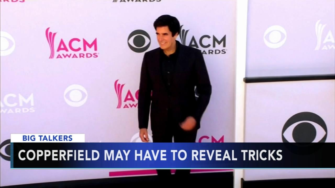David Copperfield may have to reveal trick after lawsuit surfaces
