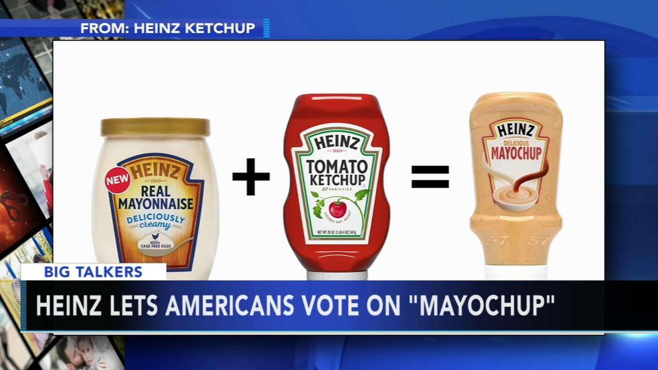 Heinz asks if America is ready for Mayochup