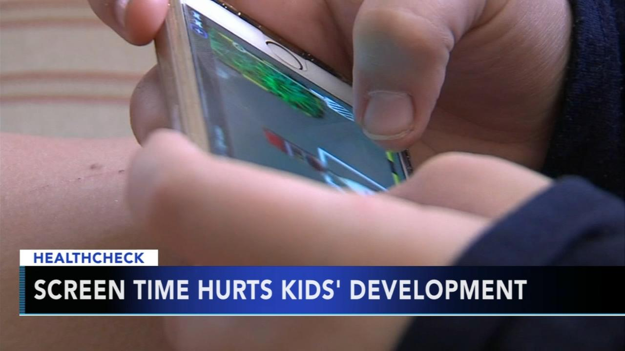 Screen time damages childrens development, say experts