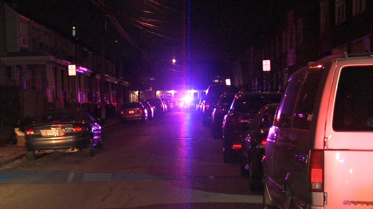 Gunfire erupts on Morton St. in Camden