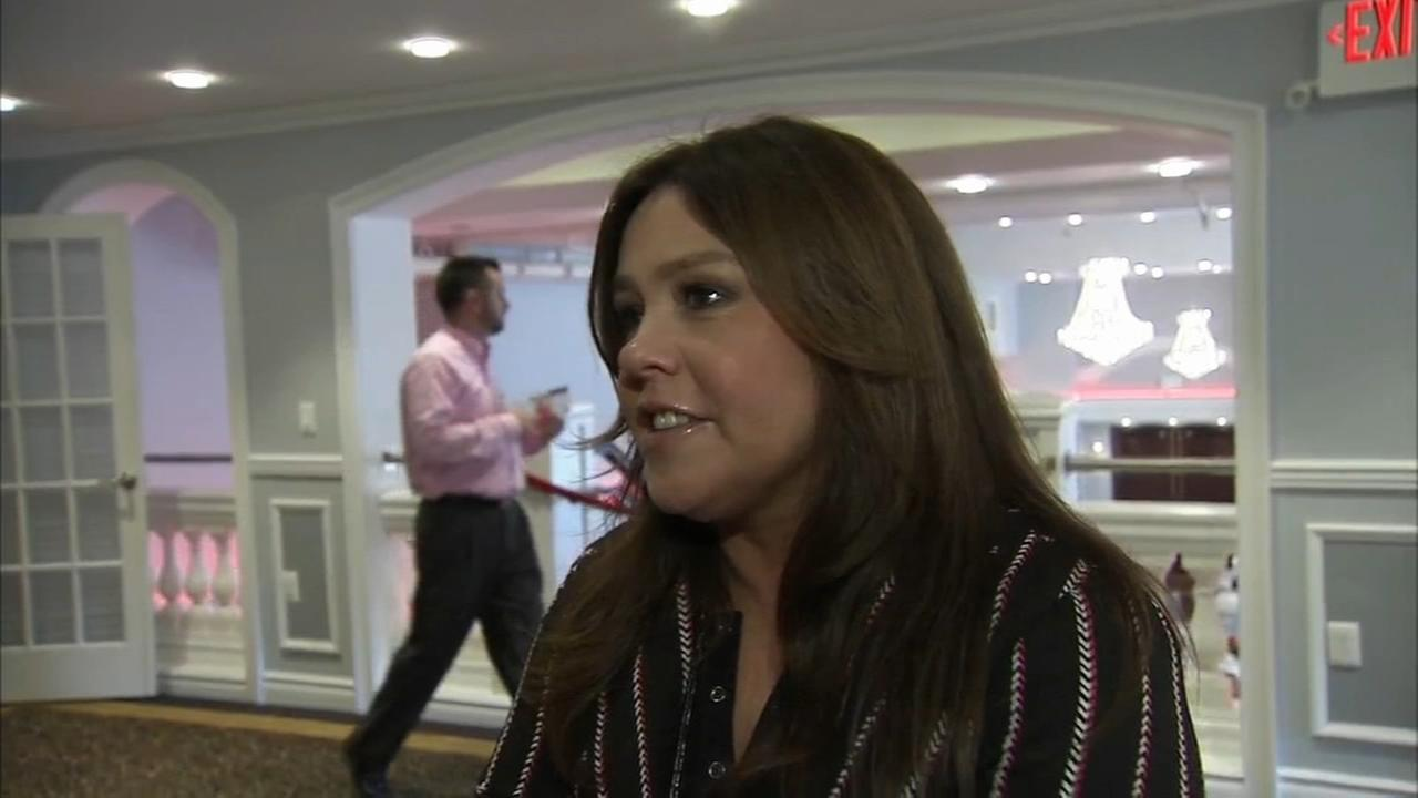 Celebrity chef Rachael Ray visits Philadelphia