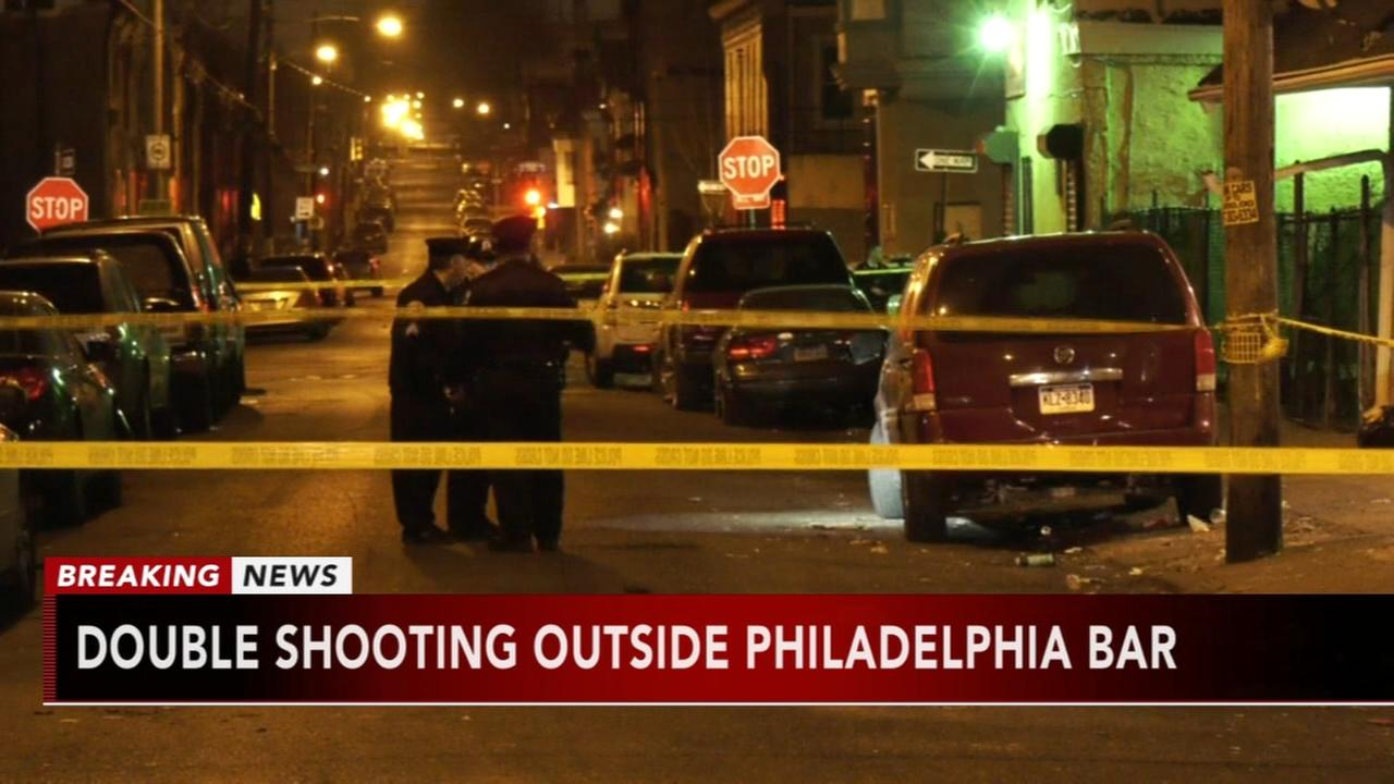 Double shooting outside Strawberry Mansion bar