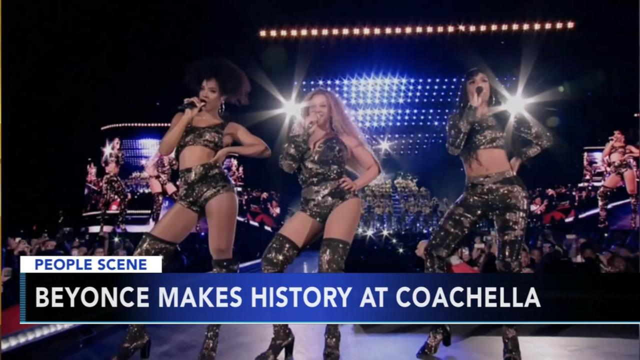 Beyonce makes history at Coachella, Destinys Child reunites for performance