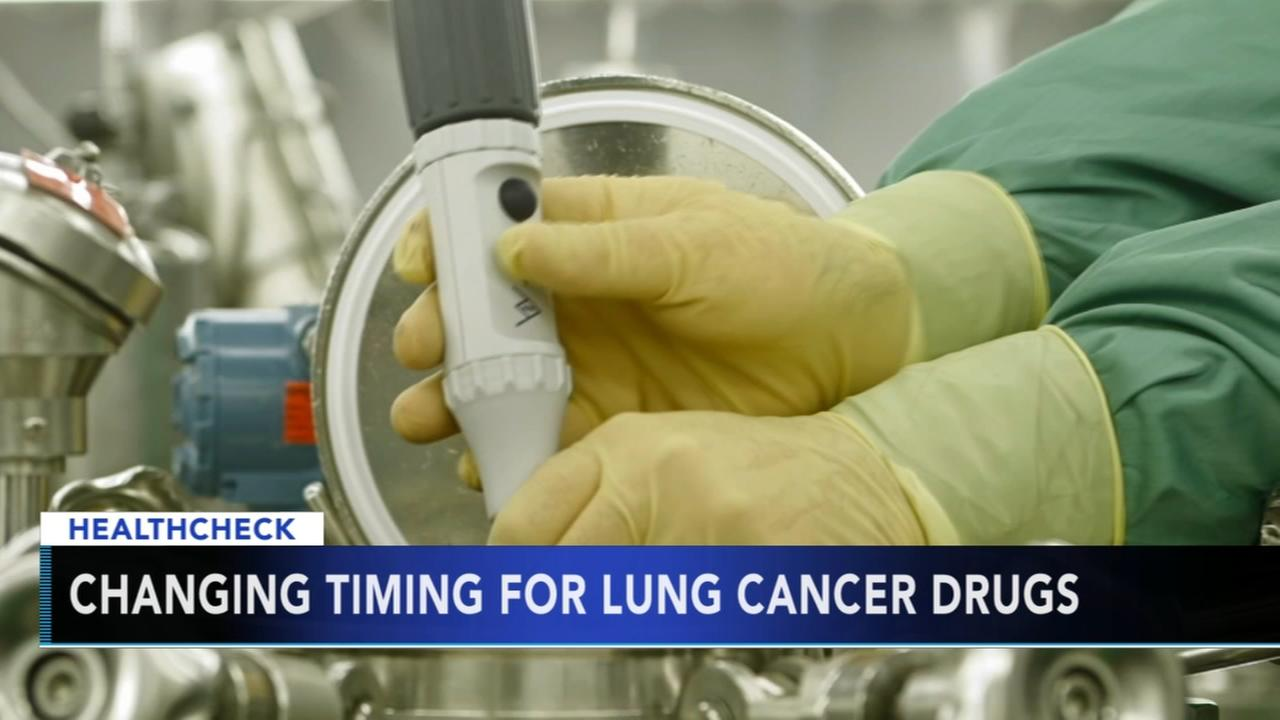 Studies find new ways to use immune-boosting lung cancer drugs