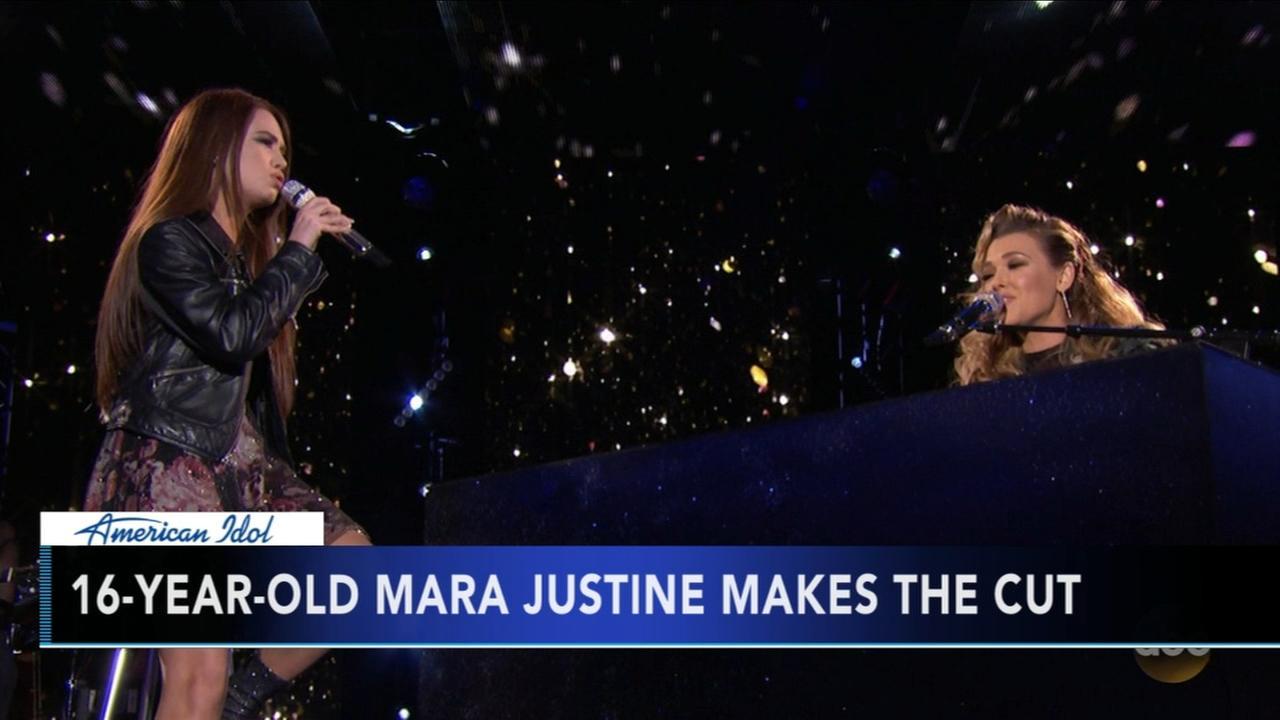 Mara Justine makes Top 14