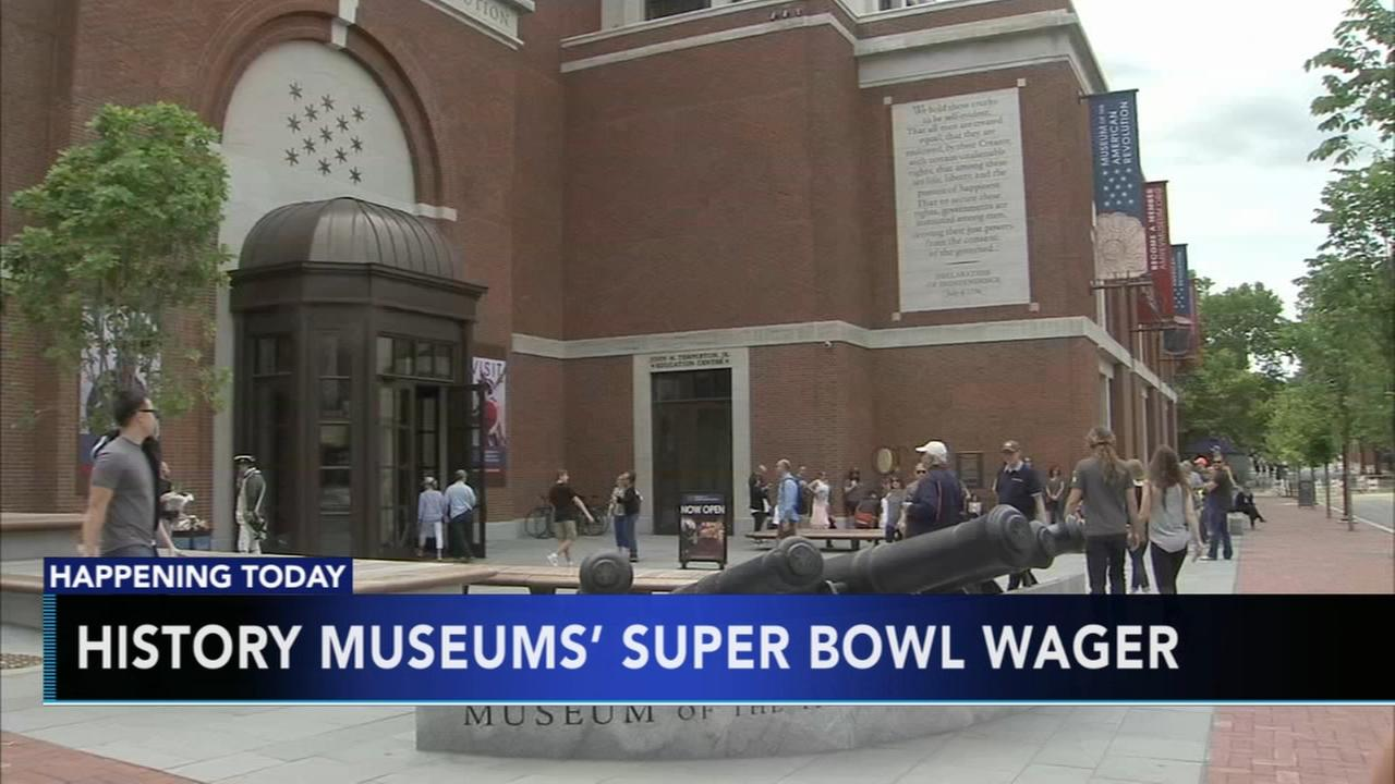 Super Bowl wager at Museum of American Revolution