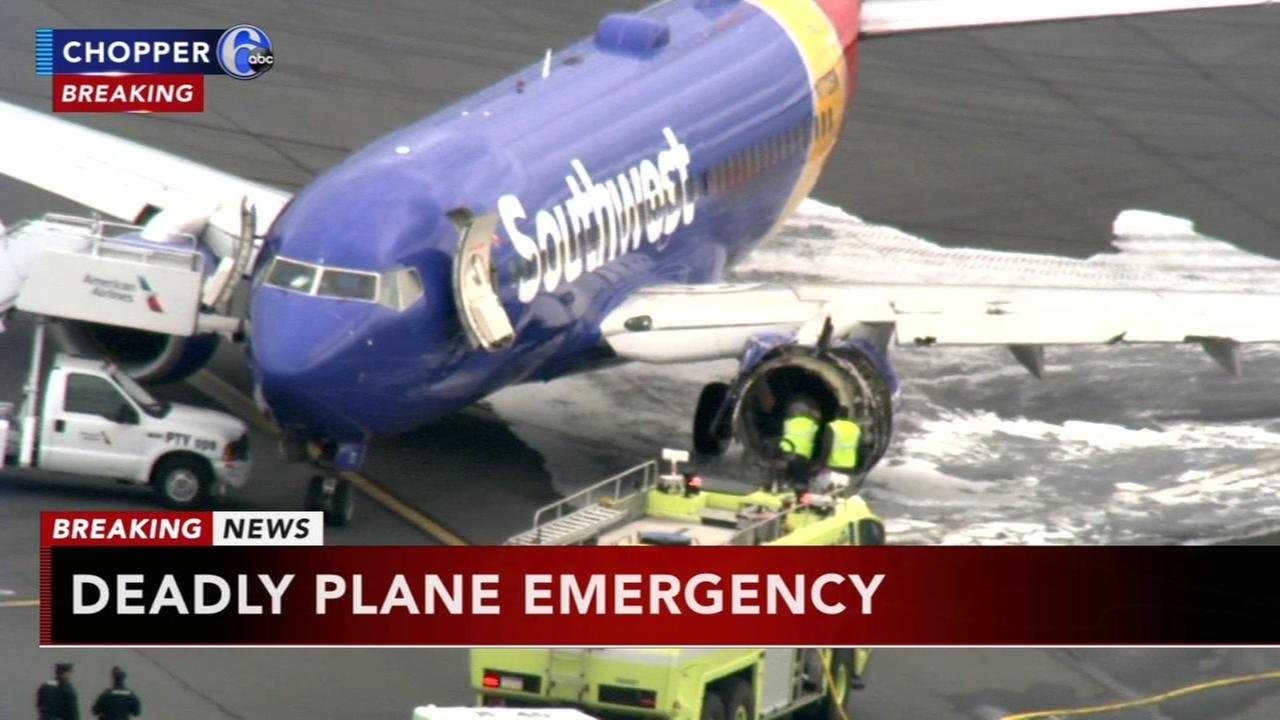 1 dead after engine failure, emergency landing at PHL