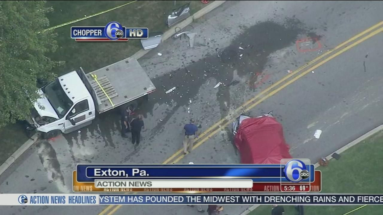 VIDEO: Woman, 78, killed in Exton crash
