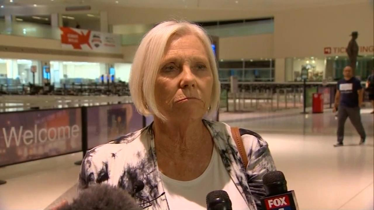 Retired nurse helped Southwest victim