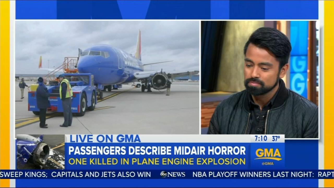 Passengers remember the horror of Southwest Airlines flight 1380