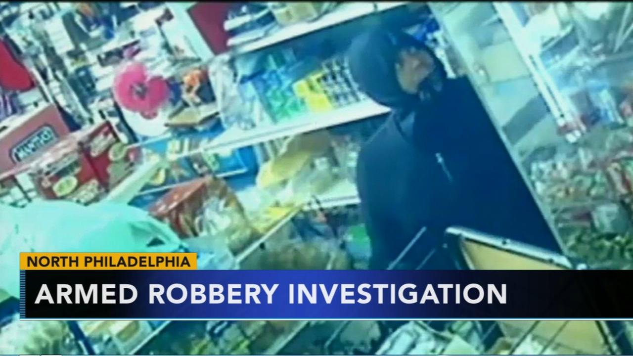 Suspect sought for robbery at Philadelphia grocery store
