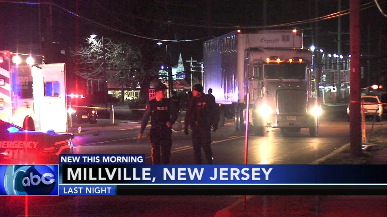 Person struck and killed in Millville