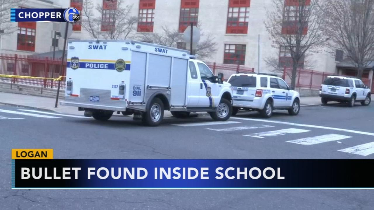 Police: Student finds bullet inside Logan school