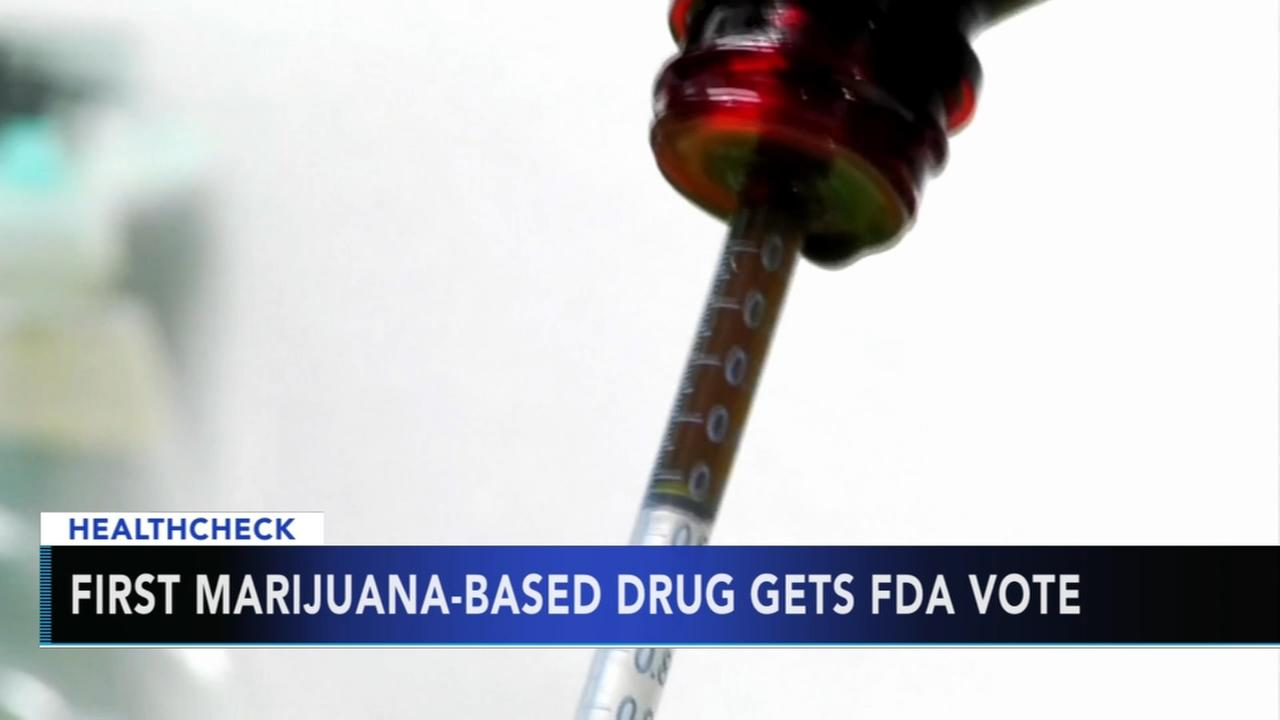 FDA advisors OK marijuana-based drug for childhood seizures