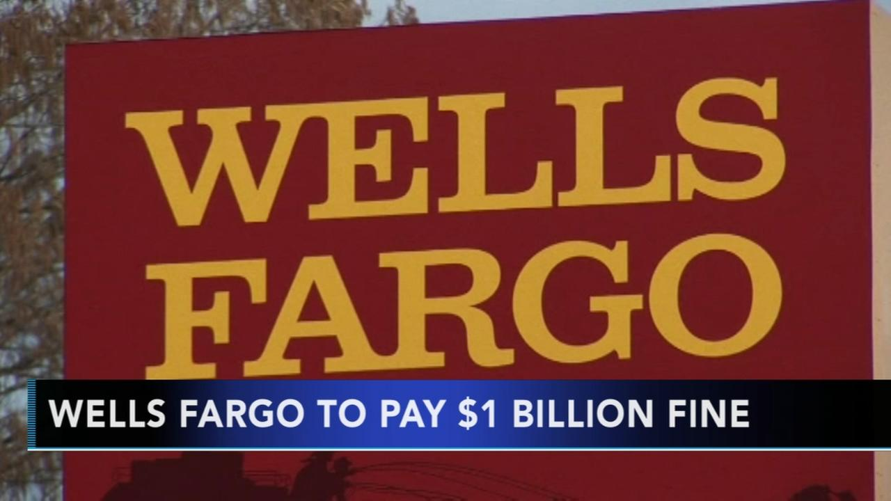Wells Fargo to pay $1B fine
