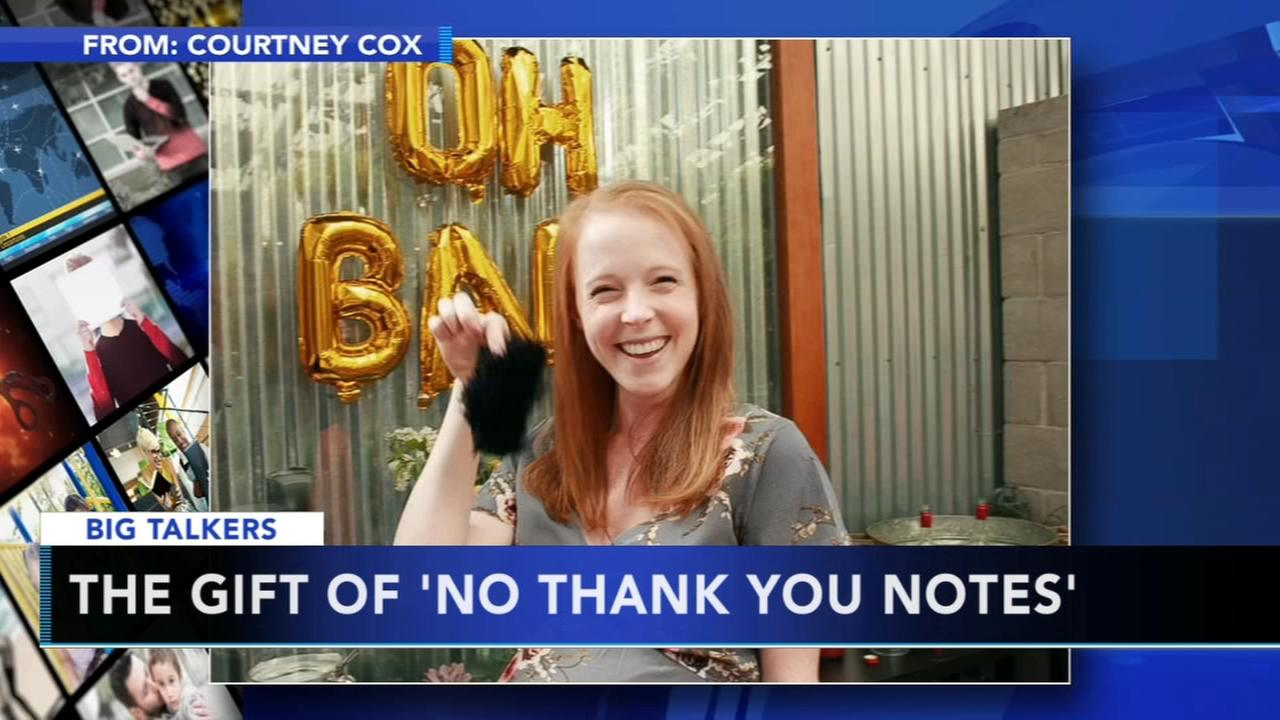 Mother-to-be sparks Twitter debate over the gift of no thank-you notes