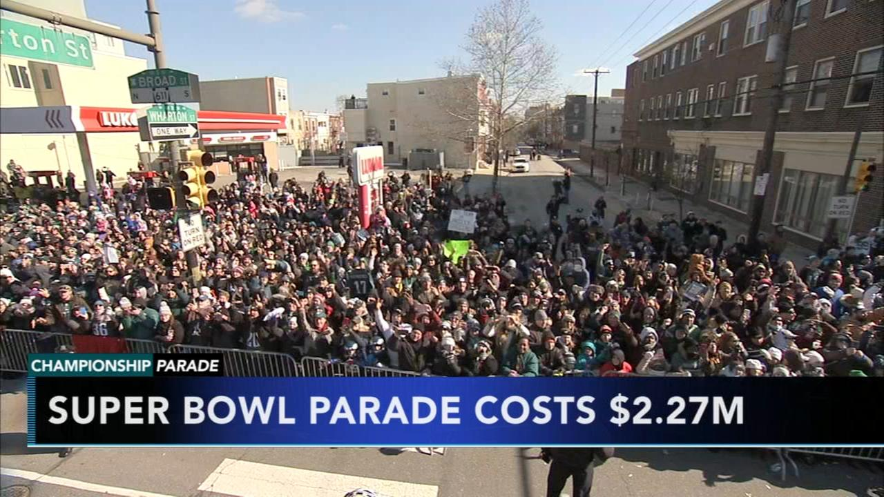 City finalizes Eagles  Super Bowl parade costs