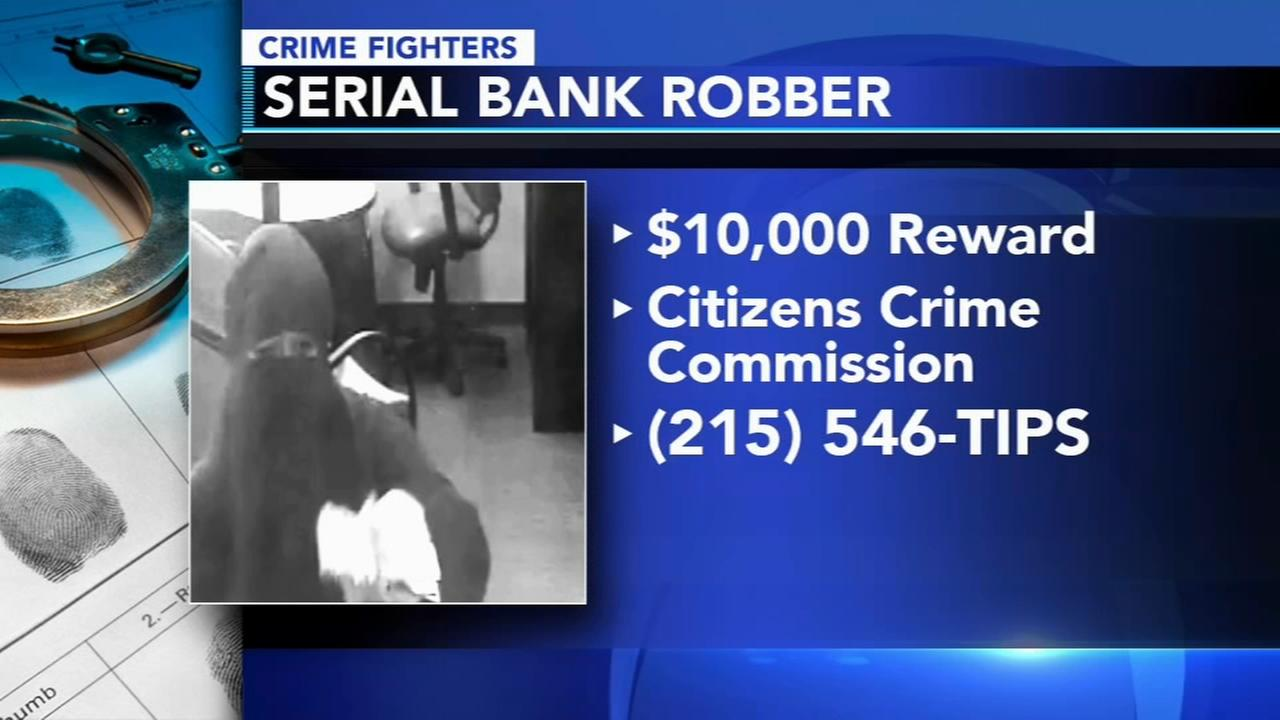 Police: Serial bank robber sought in Northeast Philadelphia