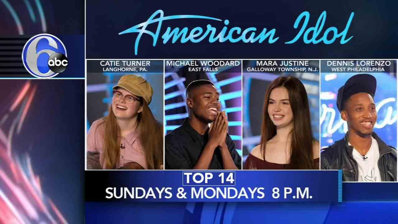 Justin Guarini and Alicia Vitarelli discuss American Idol Top 14 performances