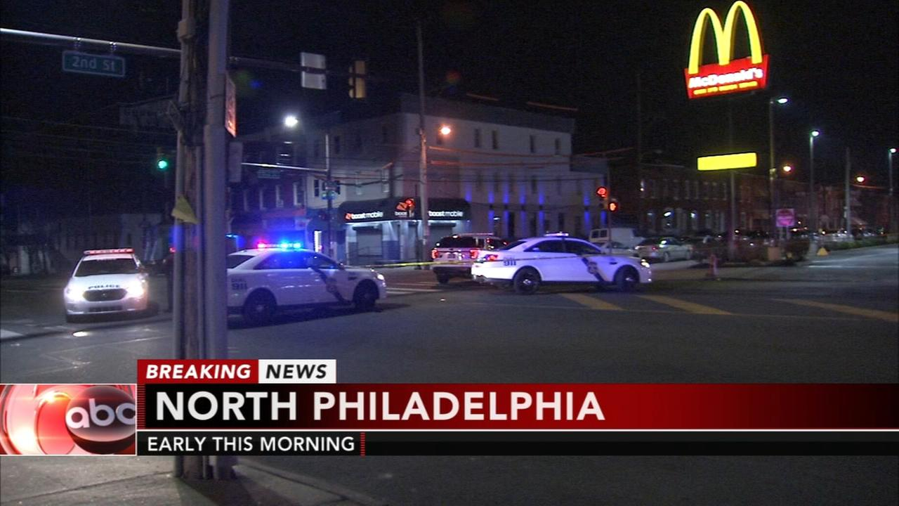Man struck by SUV in North Philadelphia