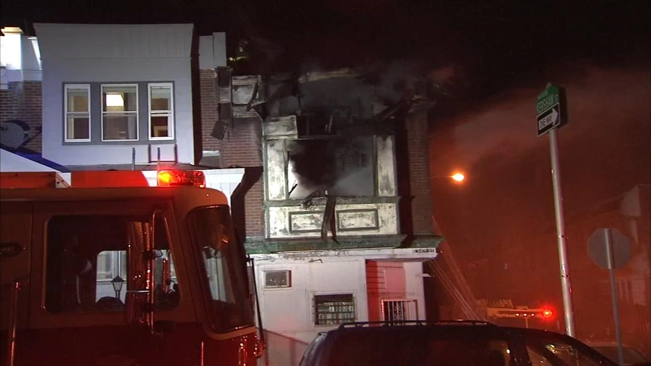 1 injured in Parkside fire