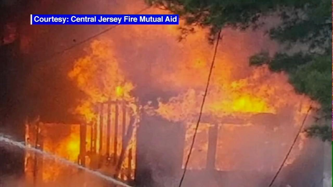 Fire during NJ sleepover injures 13, 2 critically