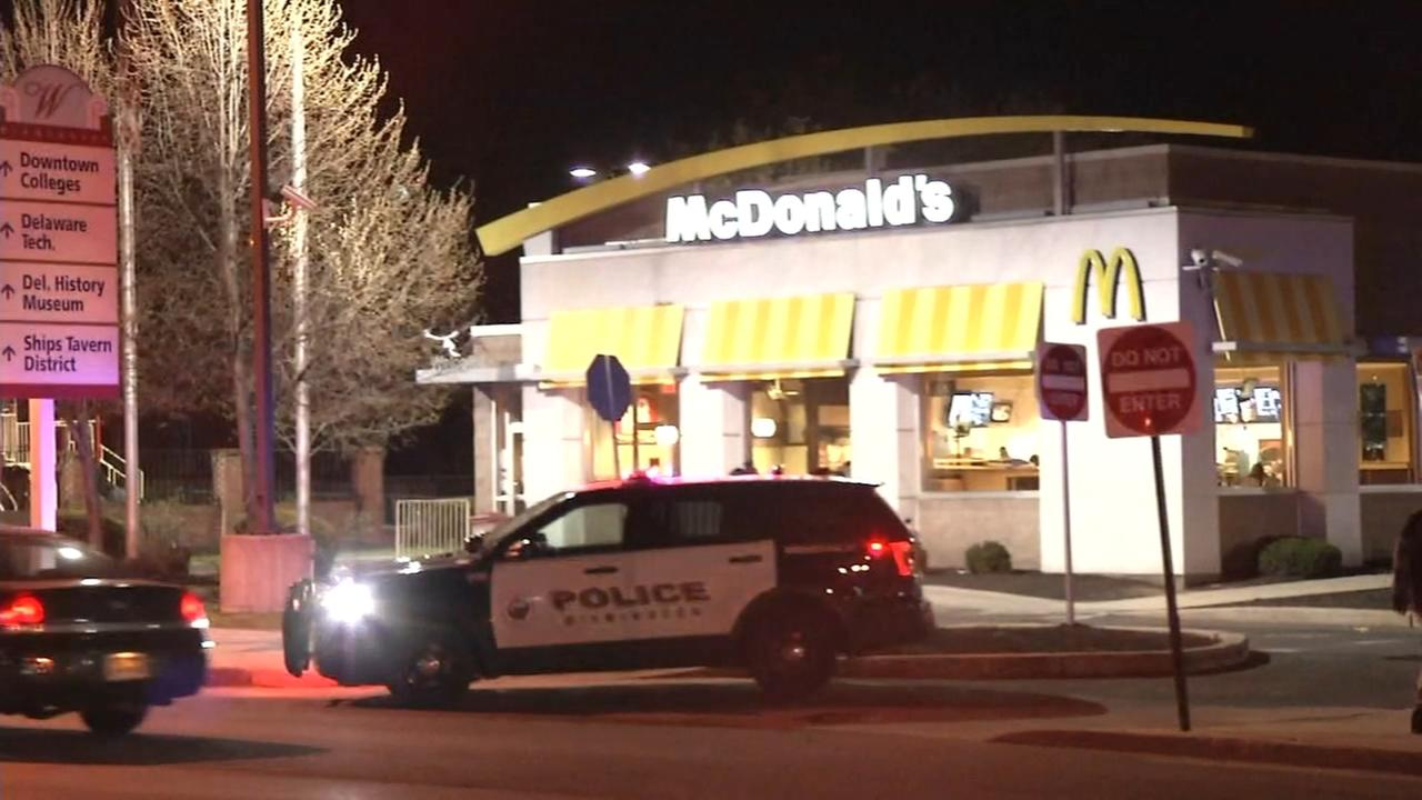 Playground shooting victim found in McDonalds parking lot