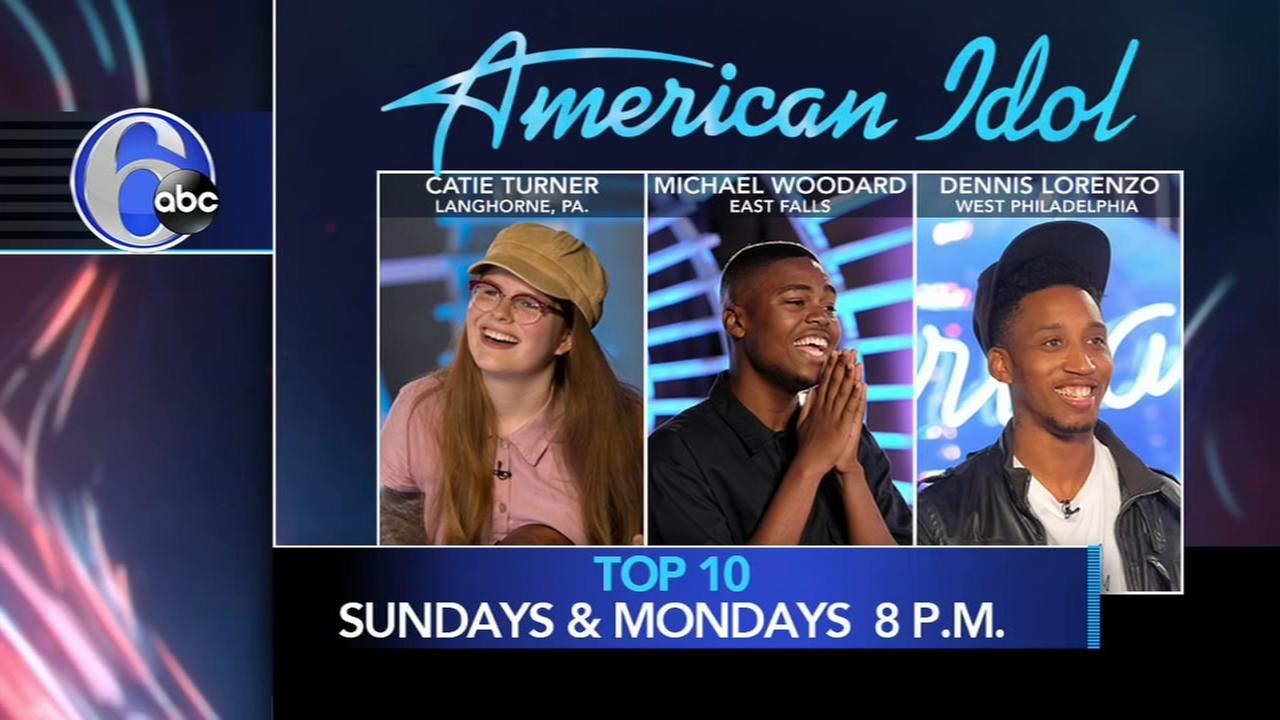 3 locals make American Idol Top 10