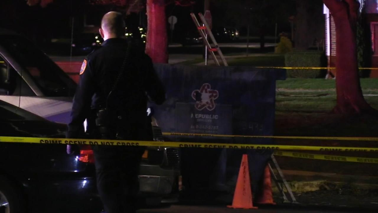 Burned body found in dumpster